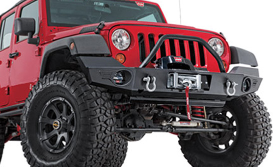 Warn Winch Offroad Front Bumper Dealer and Installer - Fort Collins