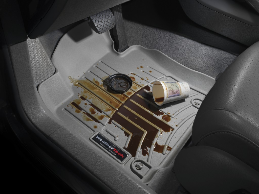 Weathertech mats part source - Weathertech Floor Mats Coffee Spill