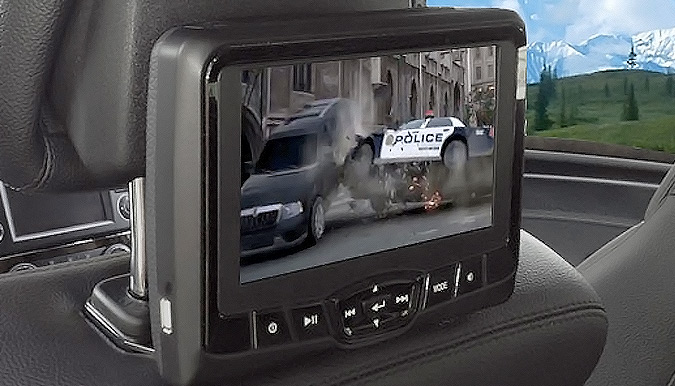 Rosen AV7800 Active-Headrest DVDs Installation - Fort Collins, Loveland, Longmont, Colorado
