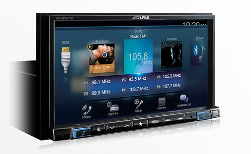 Alpine INE-W967HD Navigation Installer - Colorado