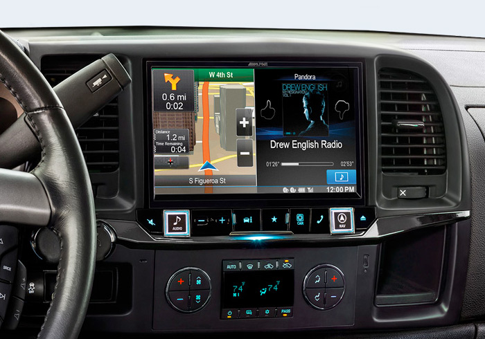 Alpine Restyle X009 GMC/Chevy Navigation - Colorado