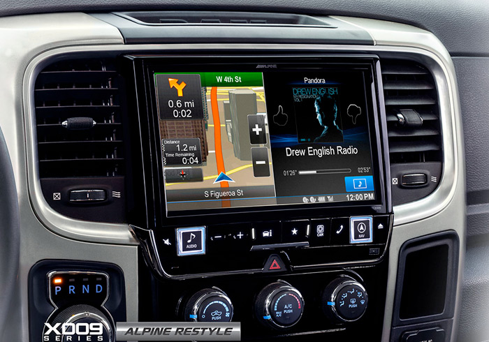 Alpine Restyle X009 Dodge Ram Navigation - Colorado