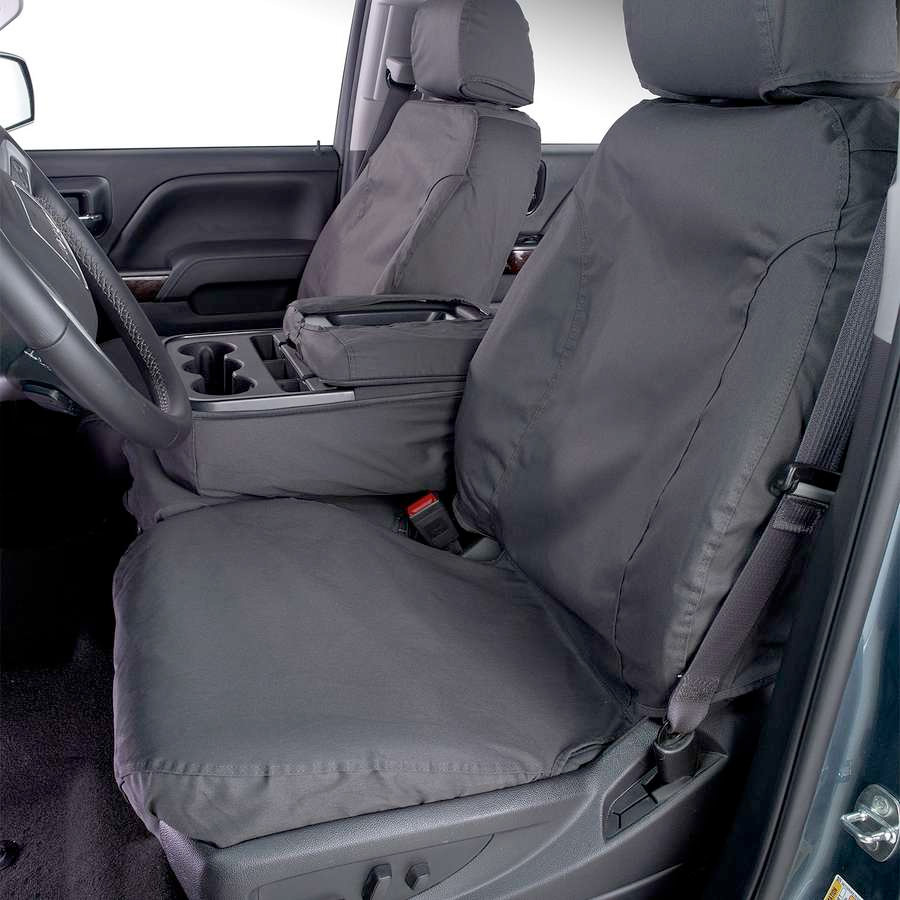 Covercraft SeatSaver Seat Cover Installed (Front Seat)