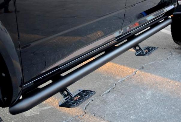Nfab Adjustastep B on Lifted Magnum