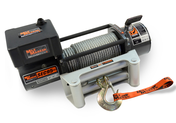 Mile Marker SEC 9.5 Offroad Winch Dealer and Installer - Fort Collins