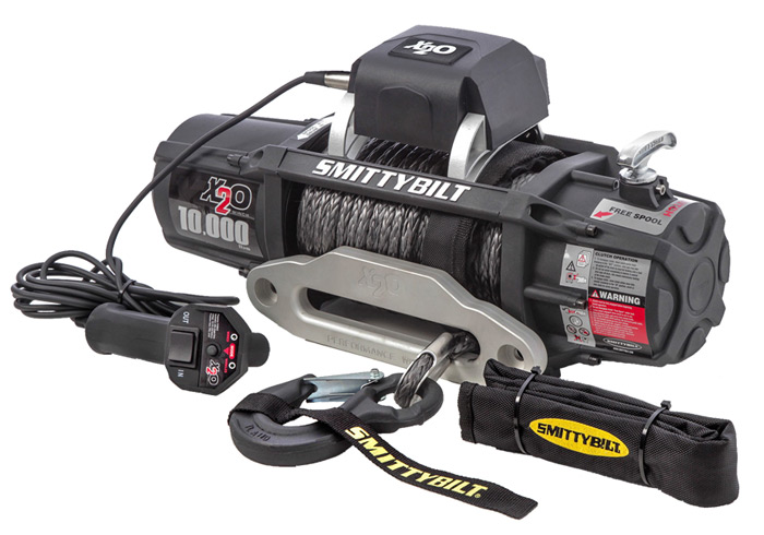 Smittybilt X20 Gen2 Offroad Winch Dealer and Installer - Fort Collins