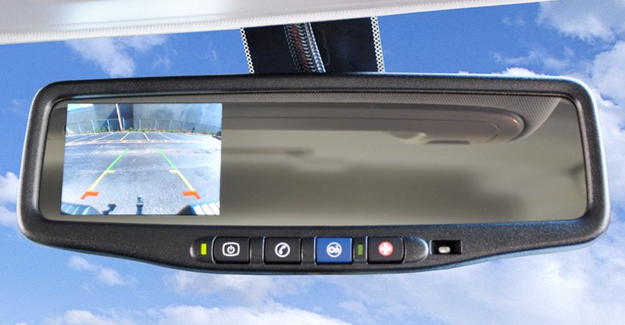 BrandMotion Universal Vehicle Backup Camera System