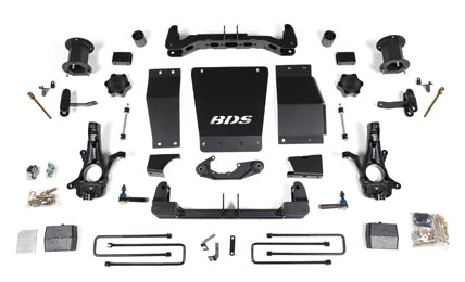BDS Offroad Truck Suspension Leveling Kits - Longmont