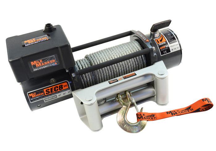 Mile Marker SEC 8 Offroad Winch Dealer and Installer - Longmont