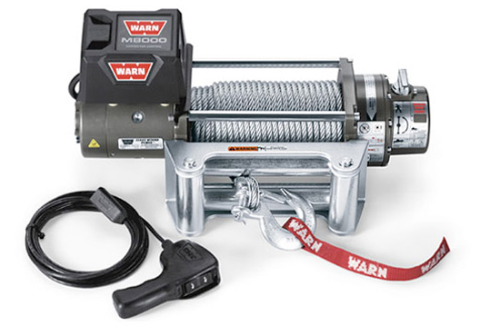 Warn M8000 Offroad Winch Dealer and Installer - Longmont
