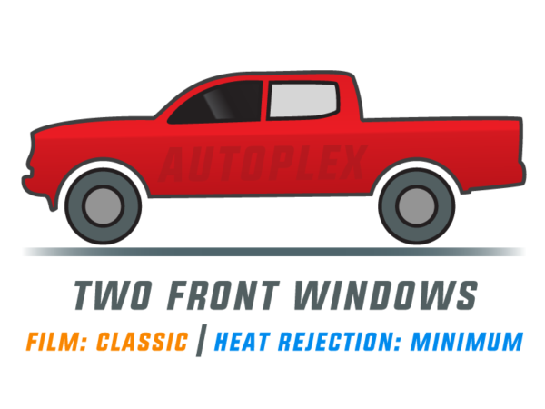 Window Tint: Classic – Two Front Doors