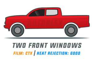 Window Tint: CTX – Two Front Doors