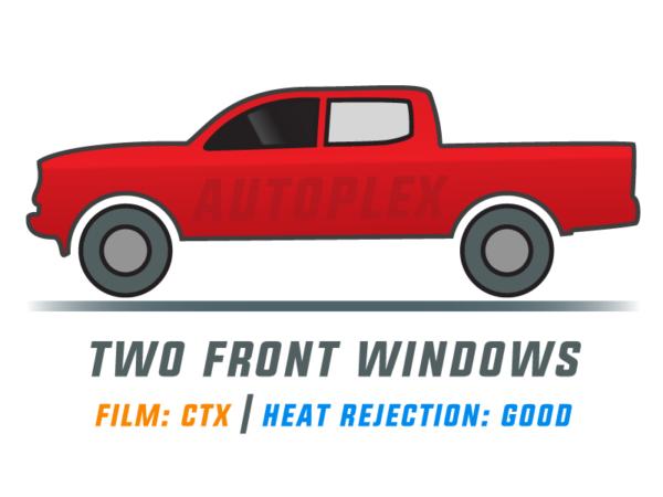 Window Tint: CTX – Two Front Doors