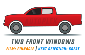 Window Tint: Pinnacle – Two Front Doors