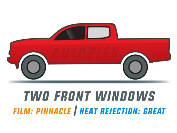 Window Tint: Pinnacle – Two Front Doors