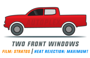Window Tint: Stratos – Two Front Doors