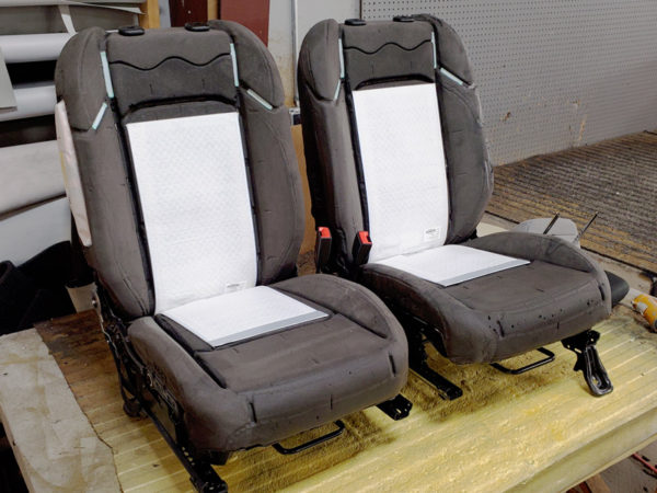 Car Heated Seats Installed on Seat